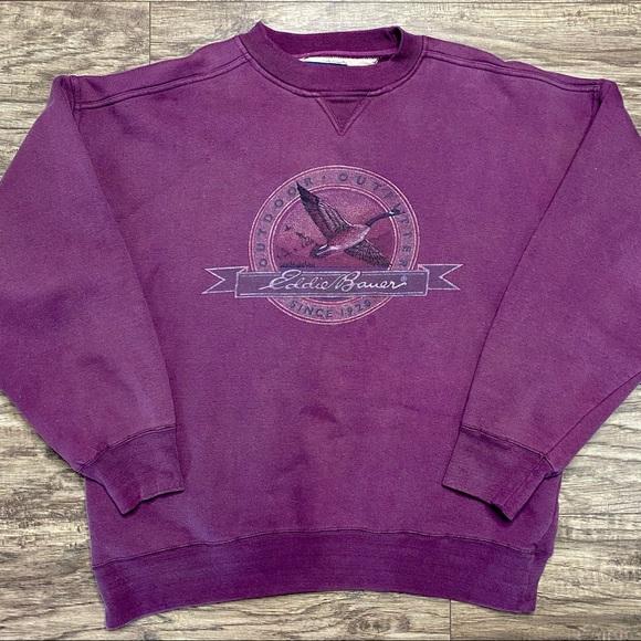 Vintage Eddie Bauer Crewneck Sweatshirt Size XL